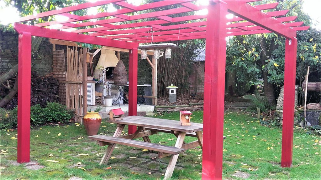 pergola et barbecue octobre 2019